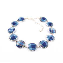 STAND Tartan Necklace