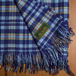 STAND Tartan 100% New Wool Blanket