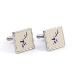 White Stag Cufflinks