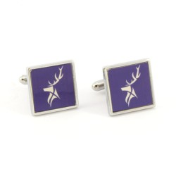 Blue Stag Cufflinks