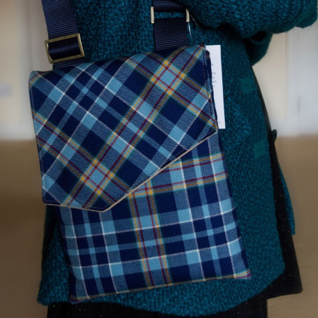 STAND Tartan Over Shoulder Bag