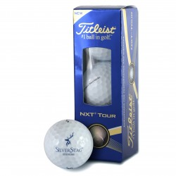 Silver Stag Golf Balls - 3 Pack