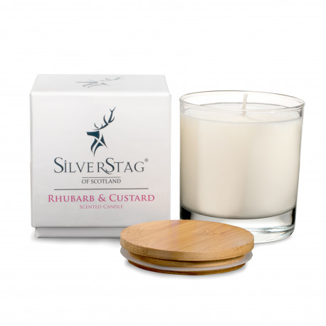 Rhubarb & Custard Luxury Candle