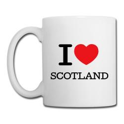 'I Love Scotland' Mug