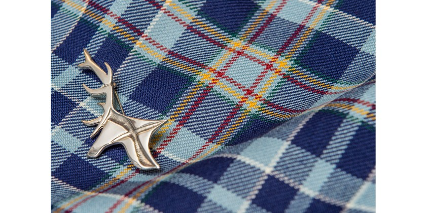 Celebrating Rabbie Burns with Silver Stag of Scotland